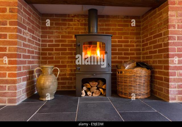 Old Brick Fireplace Stock Photos & Old Brick Fireplace Stock ...