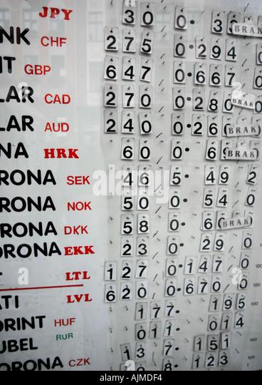 E forex exchange rates