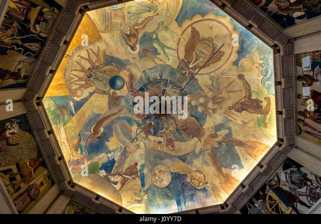 Constelations stock photos constelations stock images for Constellation ceiling mural