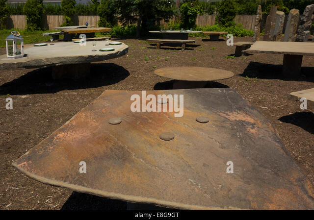 Garden Center Water Mill In Long Island New York   Stock Image