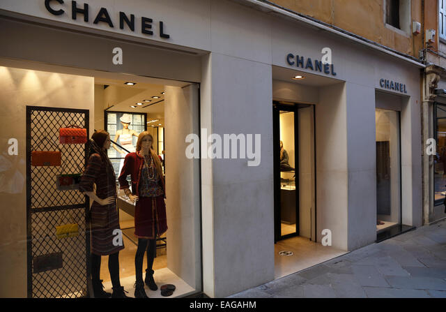 chanel store stock photos chanel store stock images alamy