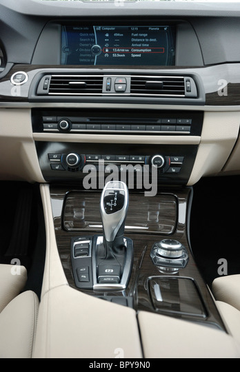Console Of Bmw Car Stock Photos Amp Console Of Bmw Car Stock