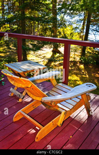 Cabin Table Chairs Stock Photos & Cabin Table Chairs Stock Images ...