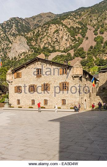 Old andorra stock photos old andorra stock images alamy - Andorra la vella apartamentos ...