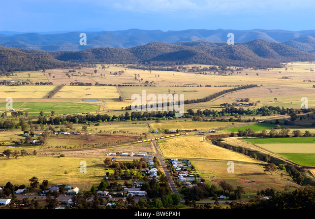 country town australia aerial stock photos country town australia aerial stock images alamy. Black Bedroom Furniture Sets. Home Design Ideas