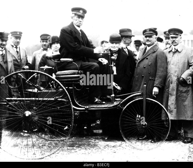 The World S First Automobile The Benz Patent Motorwagen: Karl Benz Stock Photos & Karl Benz Stock Images