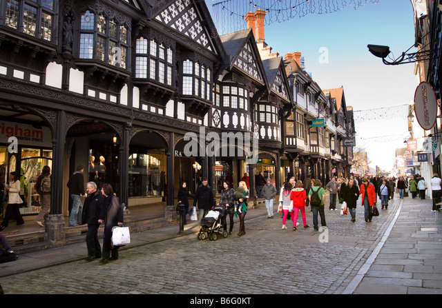 Tudor Architecture tudor architecture chester stock photos & tudor architecture