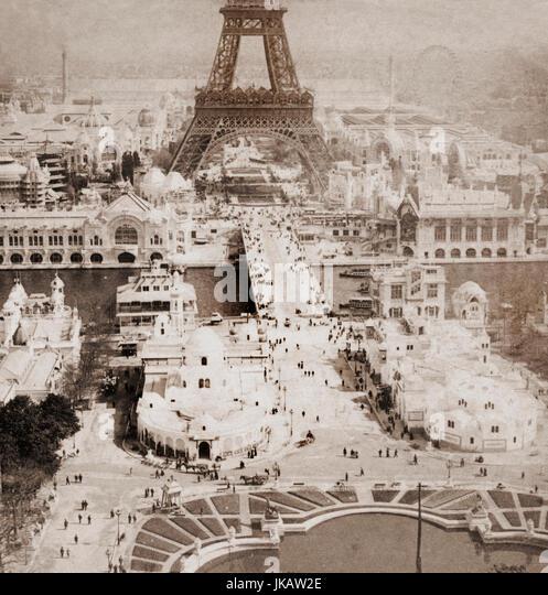 Paris exposition 1900 stock photos paris exposition 1900 for Expo paris mars