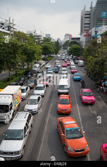 traffic jams in bangkok Bangkok to combat traffic congestion of the city in an attempt to improve the city's appalling traffic congestion and dodge traffic jams 05.