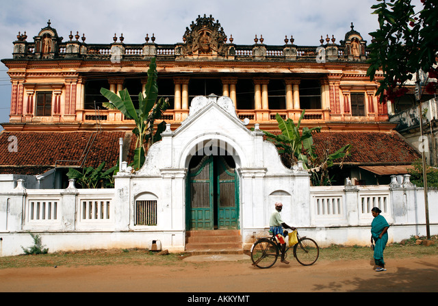 Chettinad Houses Stock Photos & Chettinad Houses Stock Images - Alamy