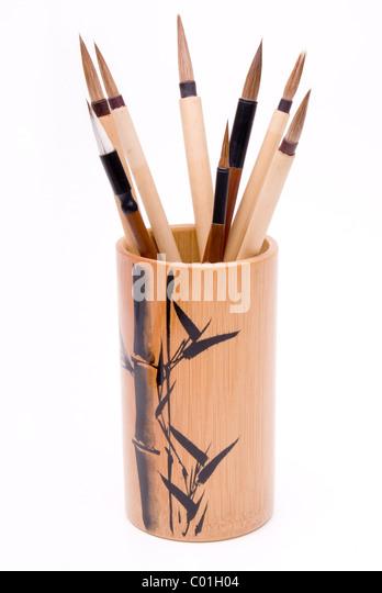 Chinese Paint Brush Holder