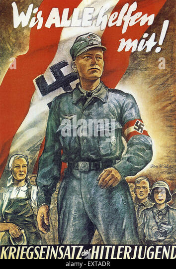 Hitler Youth Poster St...