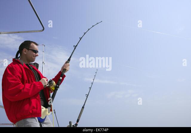 Pole and line tuna fishing stock photos pole and line for Tuna fishing games
