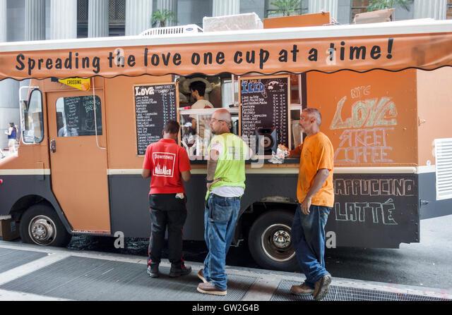 Kosher Food Truck Wall Street