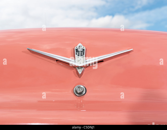 1956 Plymouth Belvedere American Car Boot Badge