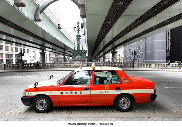 how to catch taxi in tokyo