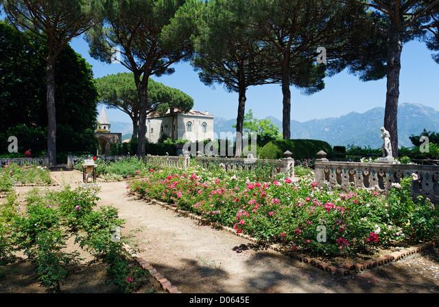 Cimbrone Garden Stock Photos Cimbrone Garden Stock