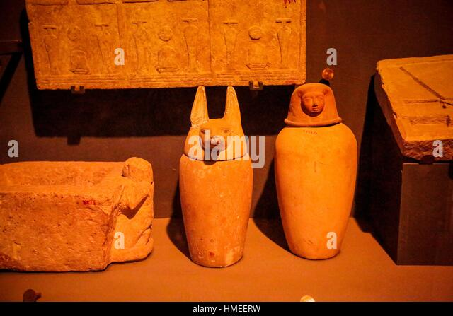 Canopic jars stock photos canopic jars stock images alamy for Amida house istanbul