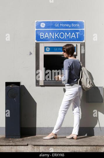 bankomat stock photos bankomat stock images alamy. Black Bedroom Furniture Sets. Home Design Ideas