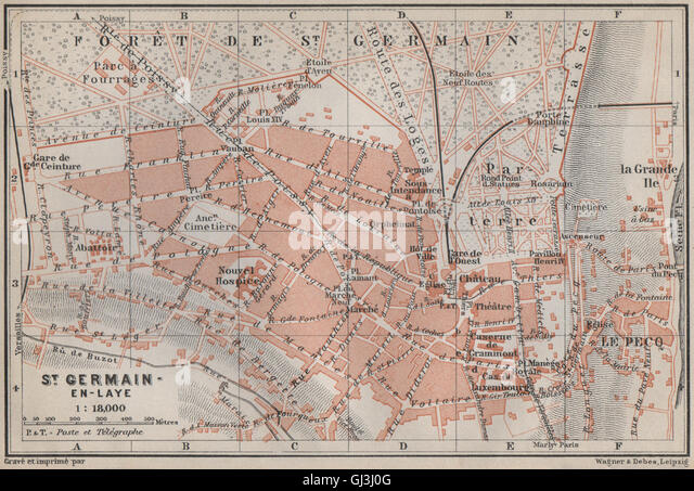 Caf Ef Bf Bd St Germain Paris  Plan