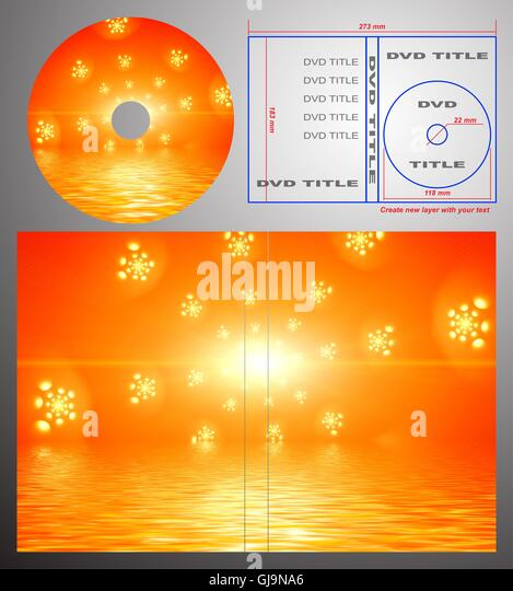 Abstract Design Template Dvd Label Stock Photos  Abstract Design