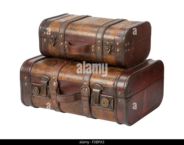 Leather Suitcases Stock Photos & Leather Suitcases Stock Images ...