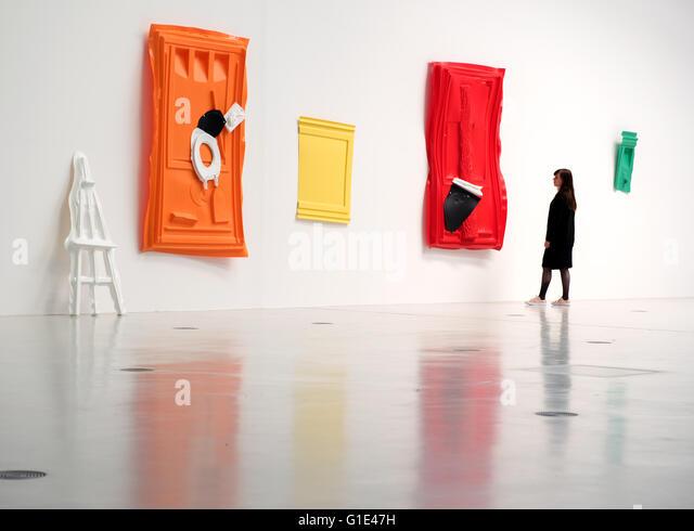 Portable Toilet Exhibition : Slominski stock photos images alamy