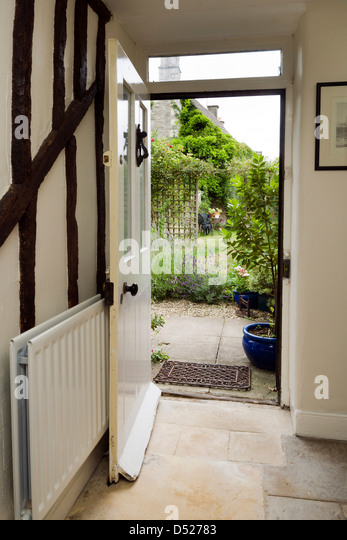 Open Front Door From Inside door open garden stock photos & door open garden stock images - alamy