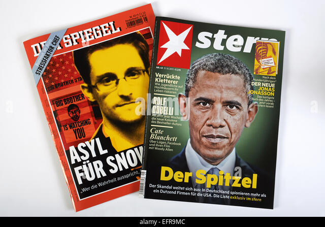 Stern german weekly news magazine stock photos stern for Stern oder spiegel