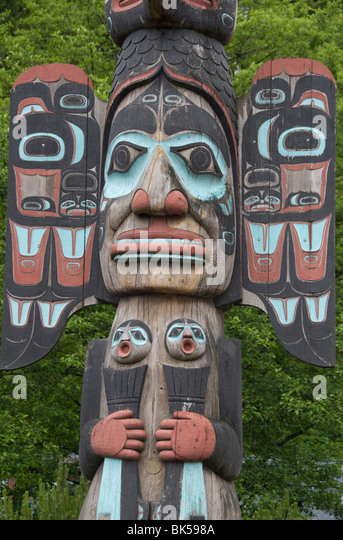 Ketchikan (AK) United States  City pictures : ... Totem Pole, Ketchikan, Alaska, United States of America, North America