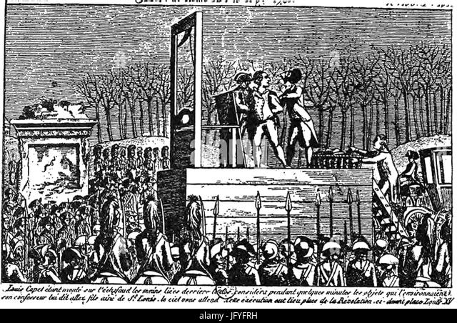 "the trial & execution of louis xvi essay The trial and execution of king louis xvi, or ""louis the last,"" was a major event in the french revolutionlouis' monarchy was ended by the revolution on august 10, 1792 when the people stormed the royal palace of the tuileries after he broke his promises to abide by the new constitution."