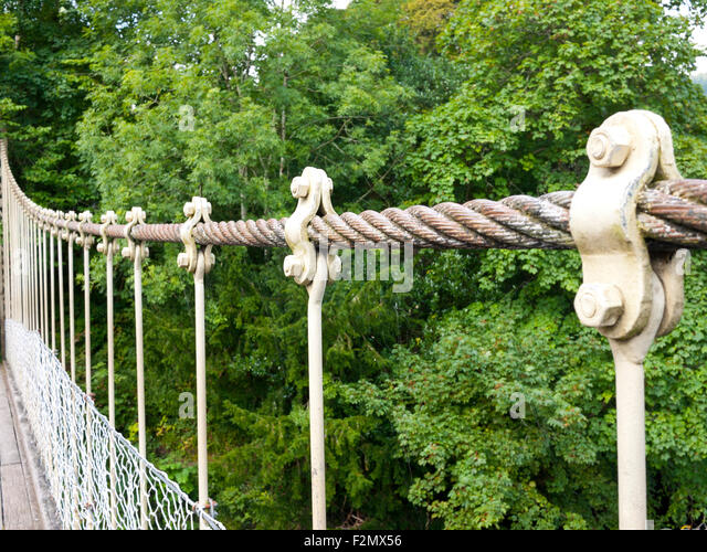 Wire Rope Bridge Stock Photos & Wire Rope Bridge Stock Images - Alamy