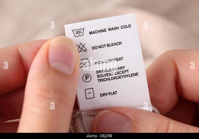 cotton care label instructions