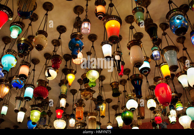 Lamp Store   Stock Image
