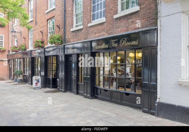 Camellia Tea Rooms Shrewsbury