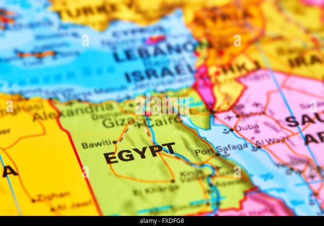 Egypt map stock photos egypt map stock images alamy egypt country in africa on the world map stock image gumiabroncs