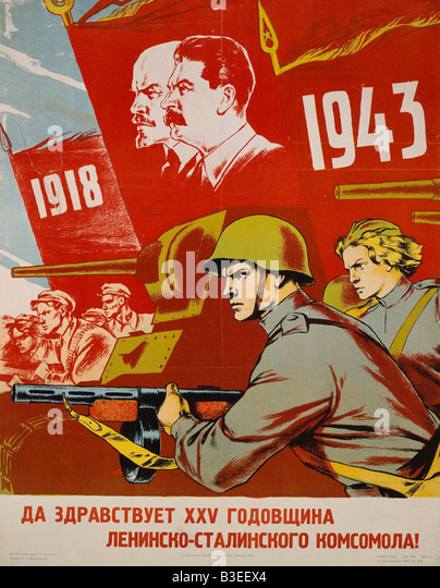 Communist Poster Stock Photos & Communist Poster Stock Images - Alamy