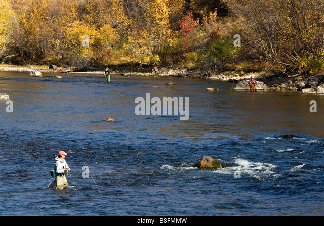 Boise river fishing stock photos boise river fishing for Fishing in boise idaho