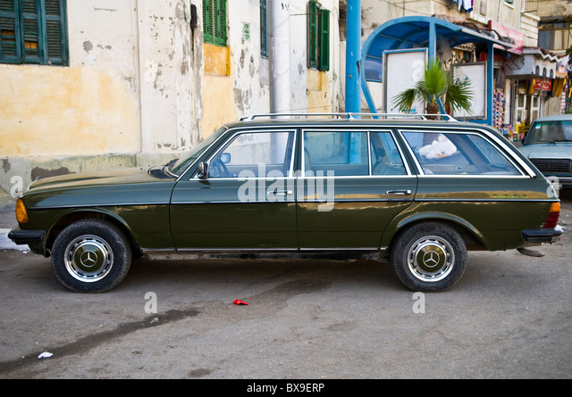 Mercedes benz station wagon stock photos mercedes benz for Mercedes benz station wagon