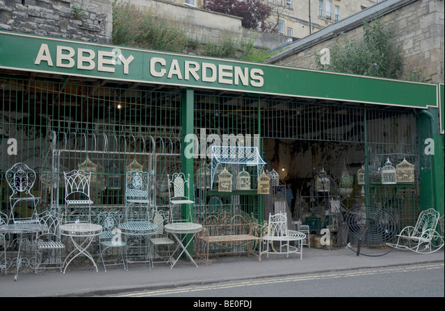 Abbey Gardens garden furniture shop Walcot Street  Bath Spa  Somerset UK    Stock Image. Garden Furniture Shop Stock Photos   Garden Furniture Shop Stock