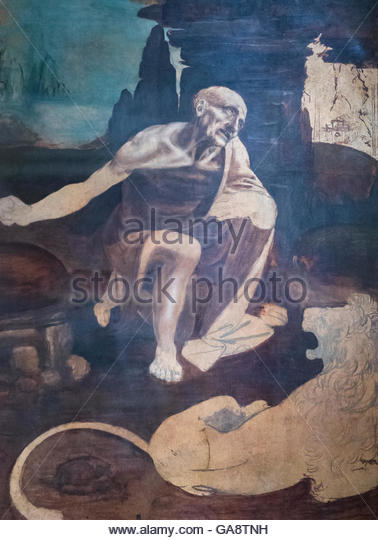 Saint Jerome In The Wilderness Stock Photos & Saint Jerome ...