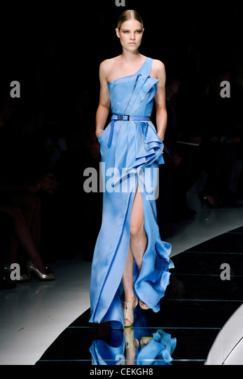 Blue Versace Dress Stock Photos & Blue Versace Dress Stock Images ...
