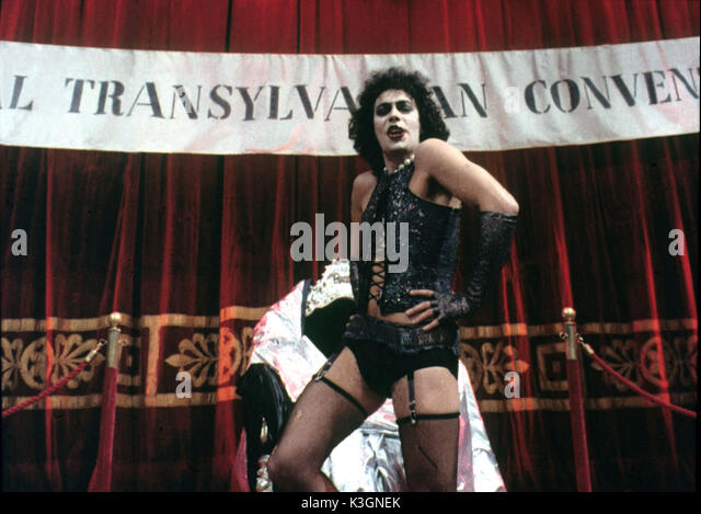 the rocky horror show and tim curry stock photos the rocky horror show and tim curry stock. Black Bedroom Furniture Sets. Home Design Ideas