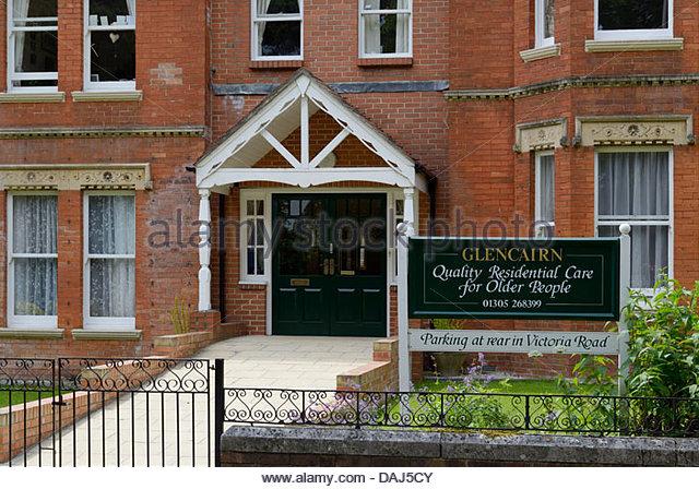 Glencairn House Residential Care Home Dorchester Dorset England UK