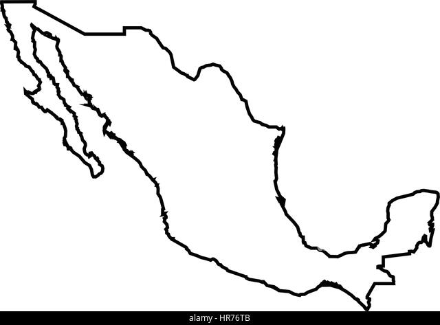 Mexico Map Black and White Photos and Images Alamy – Mexicanmap