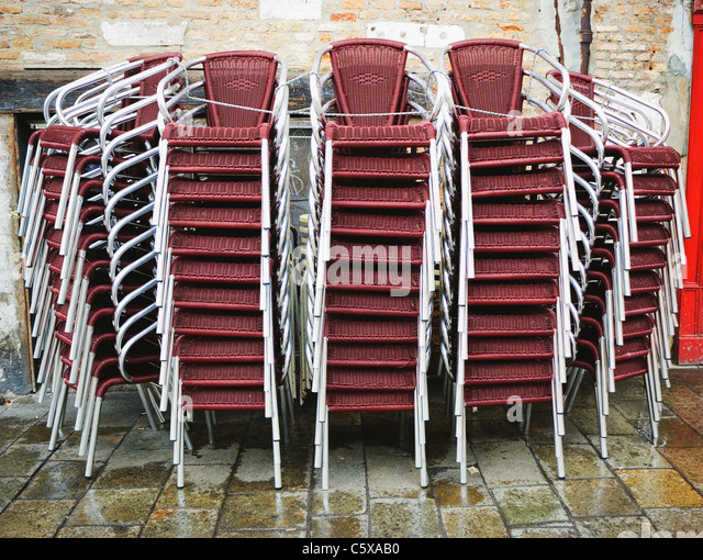 Stack Chairs Stock Photos Amp Stack Chairs Stock Images Alamy