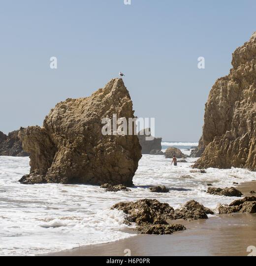 Malibu Beach Stock Photos & Malibu Beach Stock Images