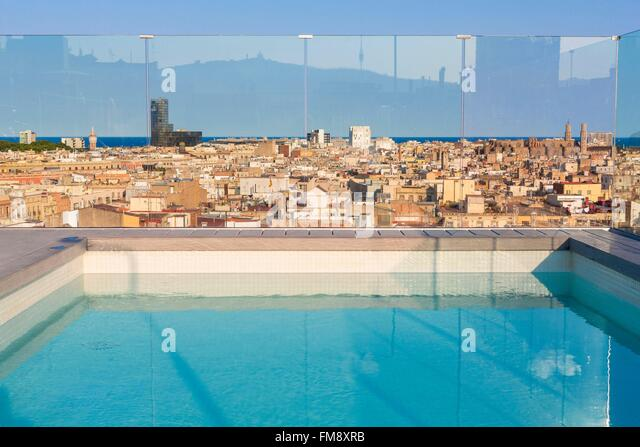 Old people swimming pool stock photos old people - Hotels in madrid spain with swimming pool ...