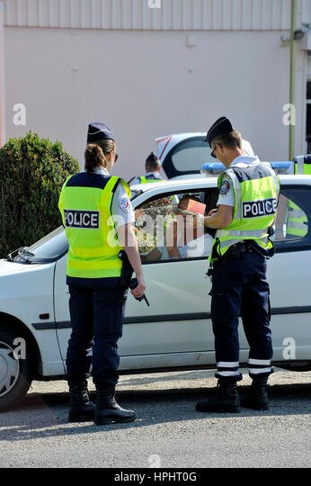 france police car stock photos france police car stock images alamy. Black Bedroom Furniture Sets. Home Design Ideas