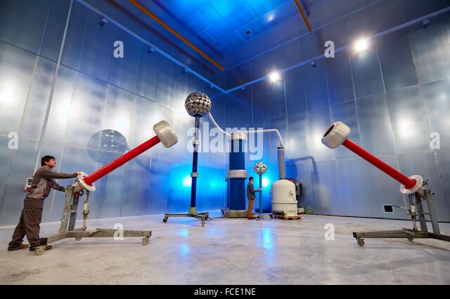 High Voltage Cage : Dielectric stock photos images alamy